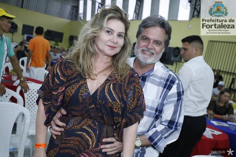 Tania Albuquerque e Paulo Miranda