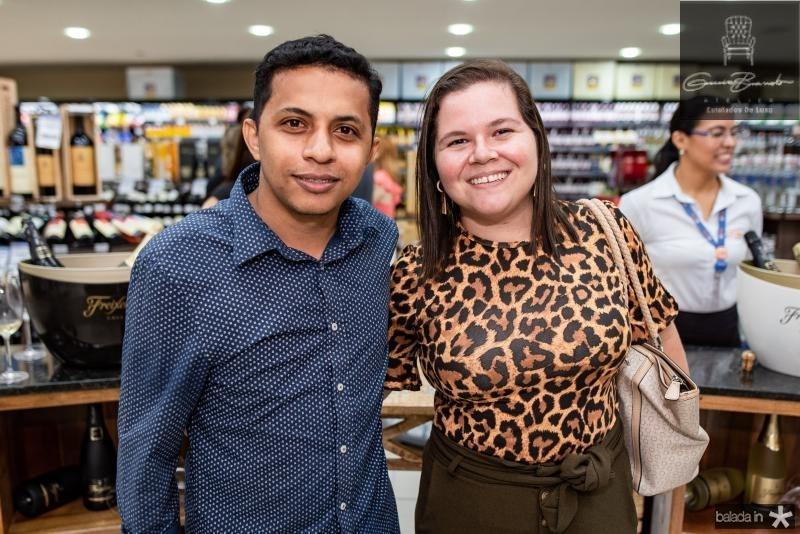 Batista Santos e Mara Araripe