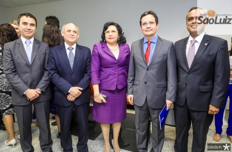 Placido Rios, Gladyson Pontes, Nailde Pinheiro, Edilberto Pontes e Marcelo Mota