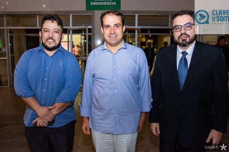 Emosteres Batalha, Salmito Filho e Robson Loureiro
