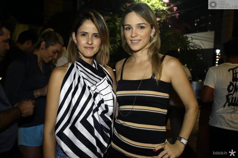 Natalie Pires e Tacia Ferreira