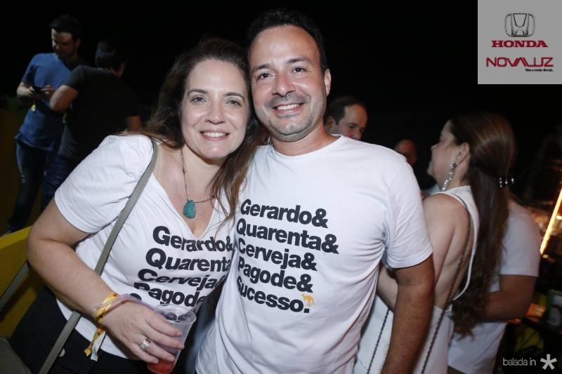 Renata e Danilo Serpa