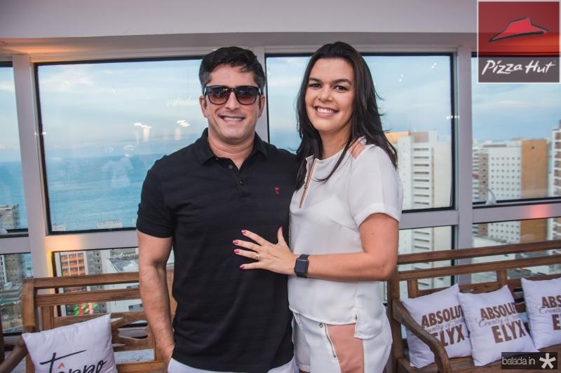 Joao Paulo Rolim e Carol Feitosa