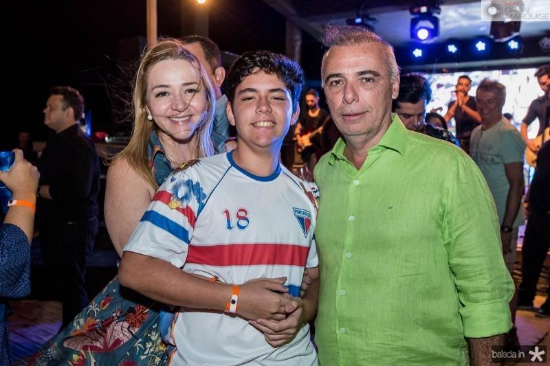 Sandra Fujita, Pedro fujita e Rogerio Torres