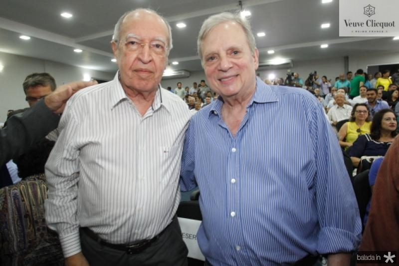 Lucio Alcantara e Tasso Jereissati