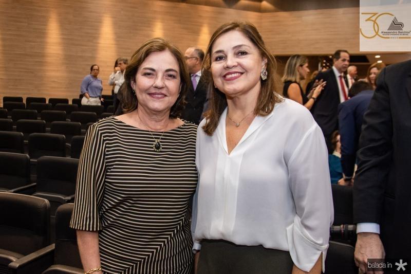 Ana Studart e Rosangela Cavalcante