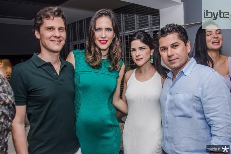 Eugenio Porto, Marcella Porto, Marilia Quintao Vasconcelos e Pompeu Vasconcelos