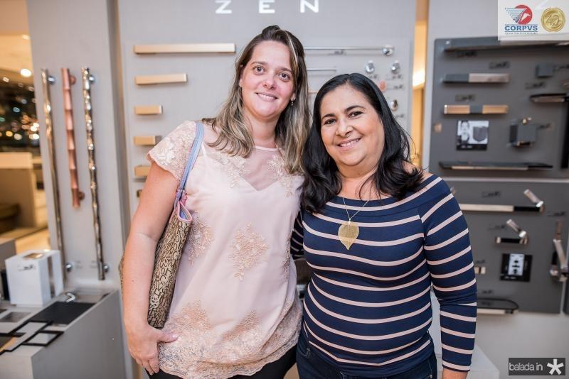 Camila Leite e Marcilia Saraiva