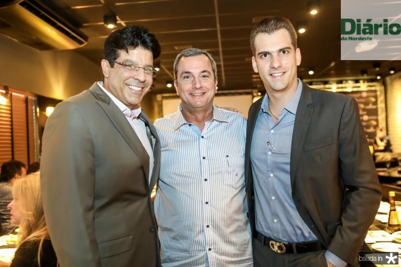 Ronaldo Otoch, Kalil Otoch e Felipe Teixeira
