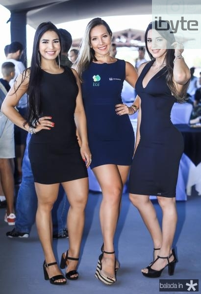 Rafaela Braga, Barbara Azevedo e Lane Lima