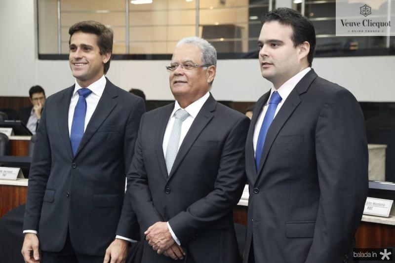 Jorge Ximenes, Jose Maria Lima e David Asfor