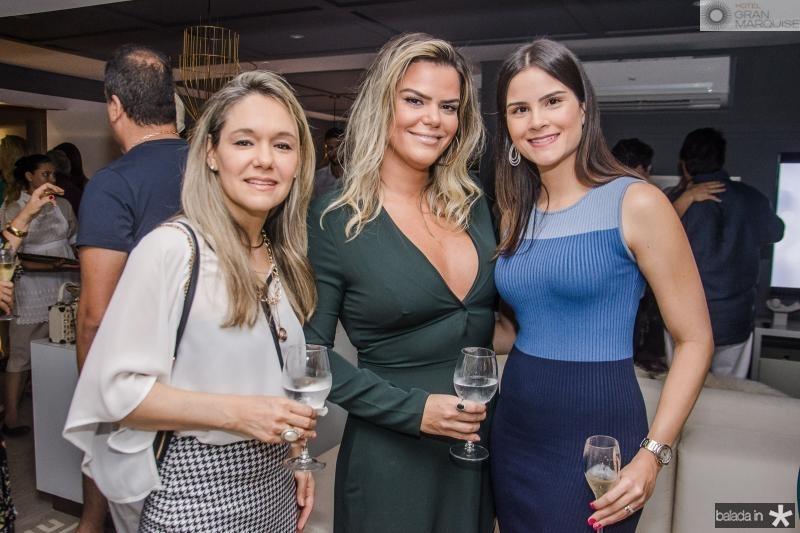 Erika Lima, Lana Barreira e Camile Quintao