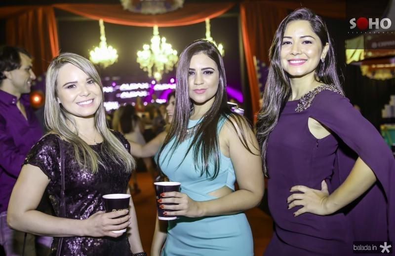 Fernanda Oliveira, Priscila Cavalcante e Nadia Marinho