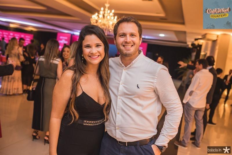 Natalia Almeida e Diogo Ruas