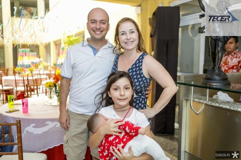 Ricardo, Andrea e Laura Sousa