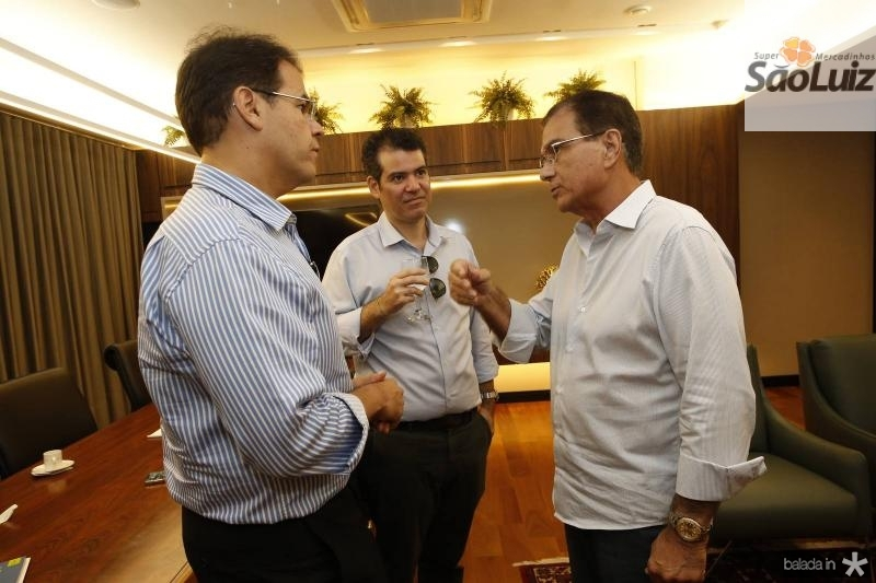 Marcelo Pinheiro, Felipe Cunha e Beto Studart
