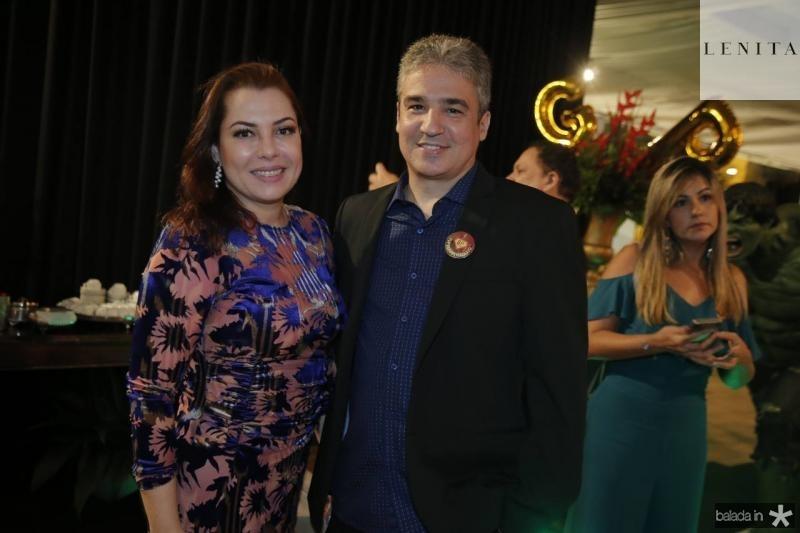 Alana Aguiar e Cesar Cerqueira