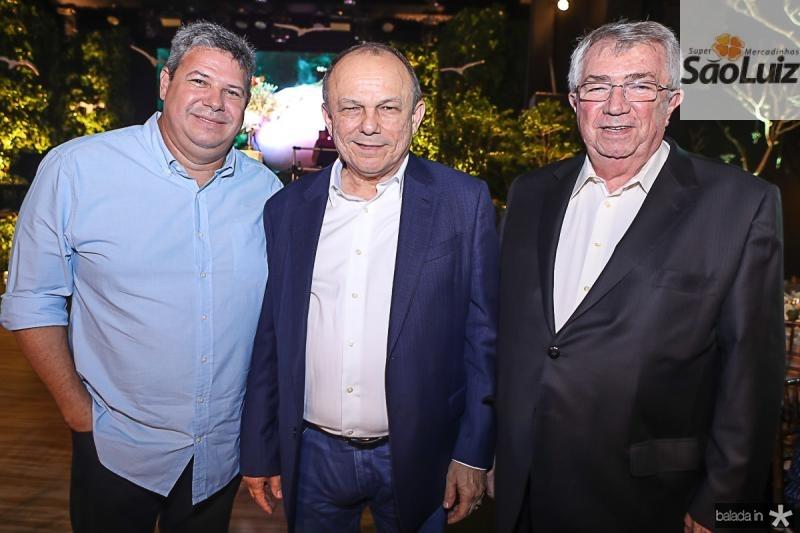 Bob Santos, Honorio Pinheiro e Roberto Macedo
