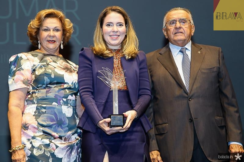 Auxiliadora Paes Mendonça, Agueda Muniz e Joao Carlos Paes Mendonça