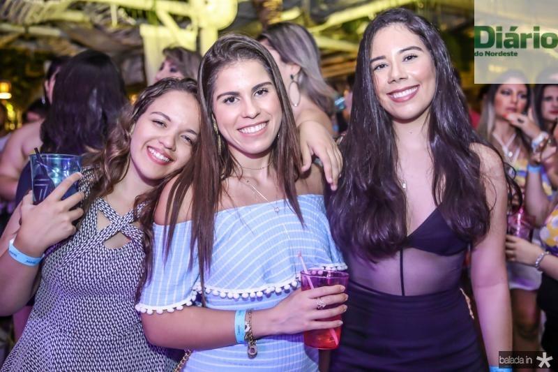 Julia Maia, Caroline Guedes e Monalisa Mendes