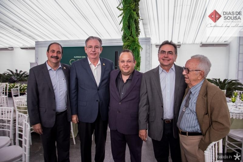 Paulo Andre Holanda, Louro Maia, Leonidas Cristino e Fernando Maia