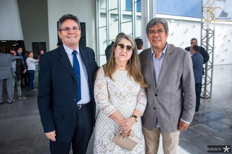 Enimar Sancho, Rosangela Lima e Jose Carlos Linhares