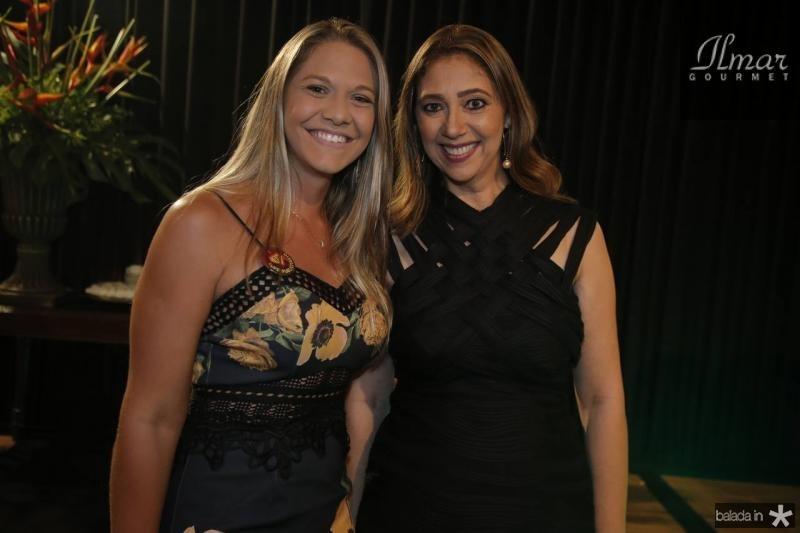 Camila Oliveira e Linda Tavares