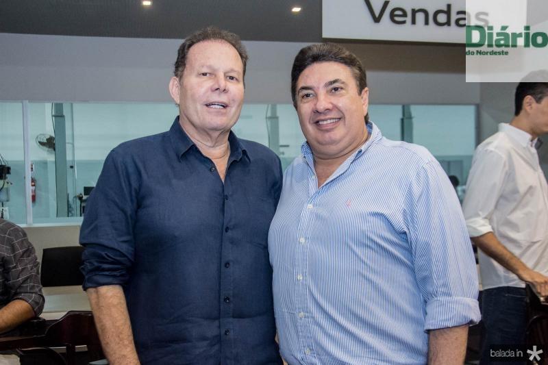 Julio Ventura e Marcos Dias Branco
