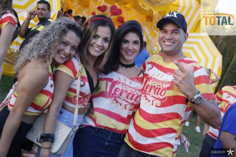 Stela Mota, Grace Bezerra, Natalia Porto e Gil Cidrim