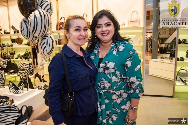 Hilma Braga e Viviane Almada