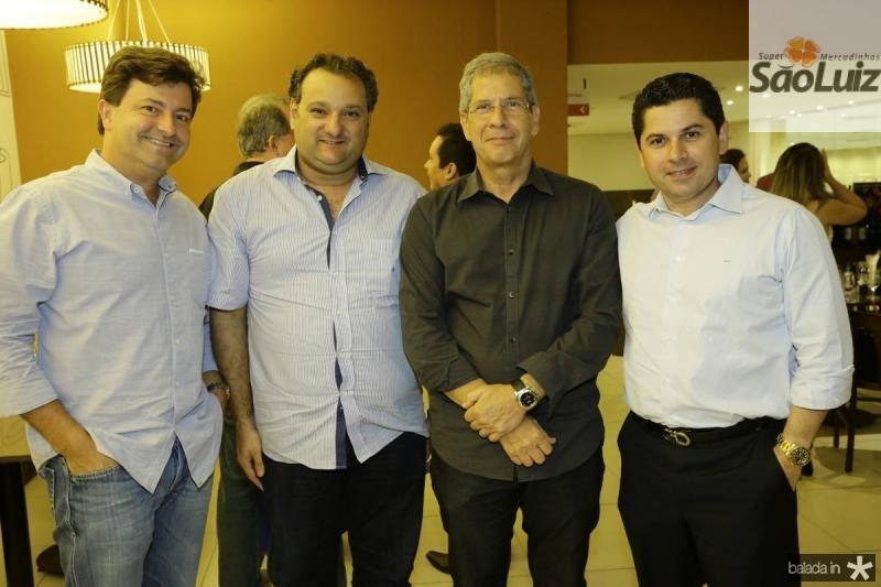 George Vieira, Patriolino Dias, Severino Neto e Pompeu Vasconcelos