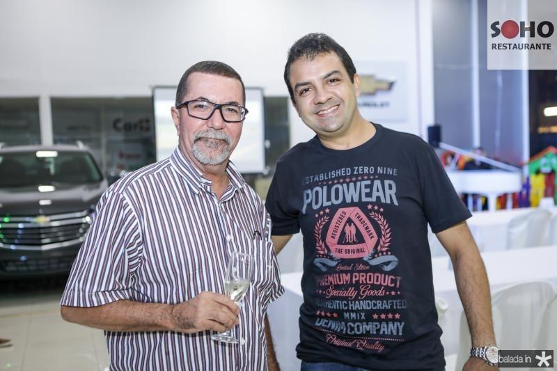 Francisco Welton e Ian Ximenes