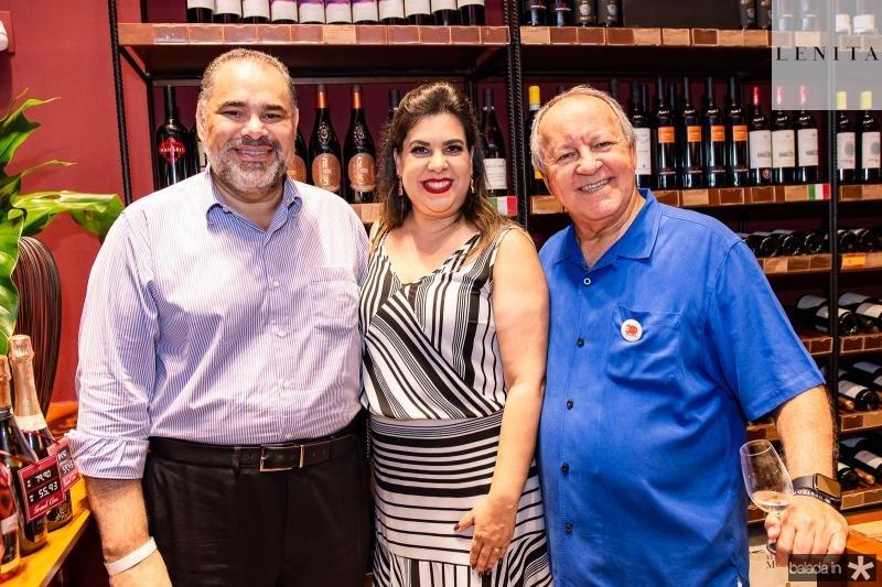 Edson Ferreira, Patricia Ferreira e Crica Bezerra