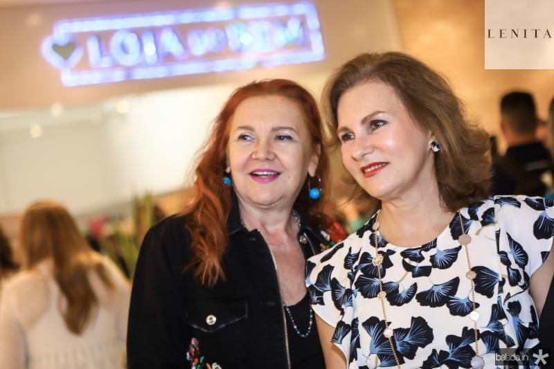 Claudia Rebouças e Renata Jereissati