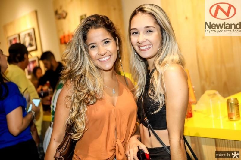 Aline Vinudo e Isabella Lima