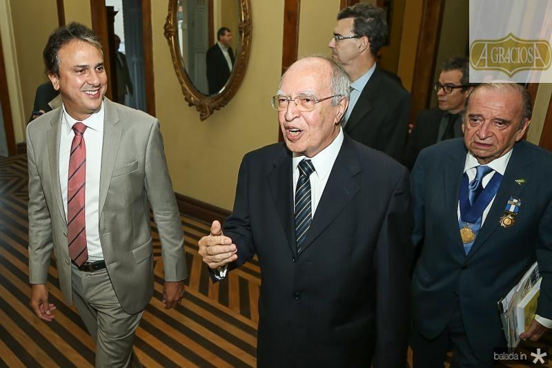 Camilo Santana e Lucio Alcantara