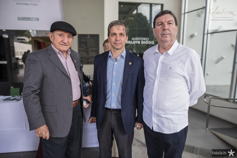 Airton Teixeira, Romulo Soares e Heitor Studart