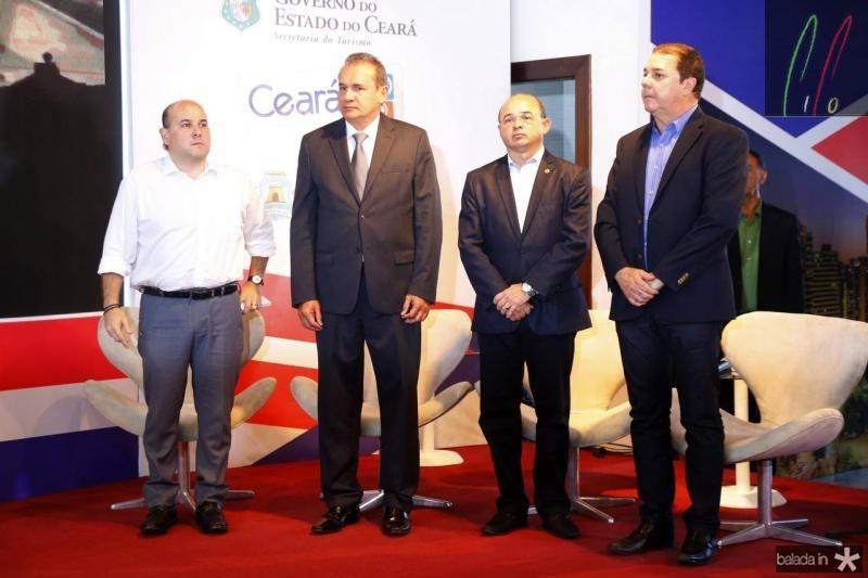 Roberto Claudio, Washington Luiz, Sergio Aguiar e Eliseu Barros