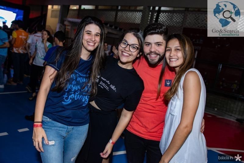 Marina Mendonca, Lara Lima, Joao Andrade e Lara Cristino