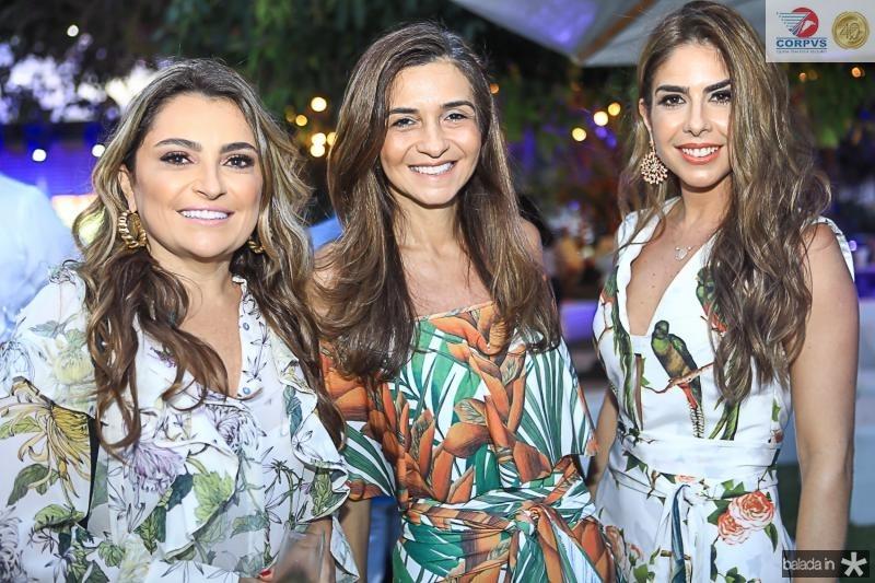 Valeria Feitosa, Cristina Brasil e Rafaela Otoch