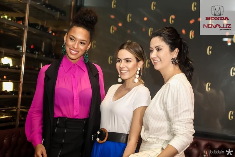 Raissa Santana, Constanza Fernandes e Constanza Fernandes