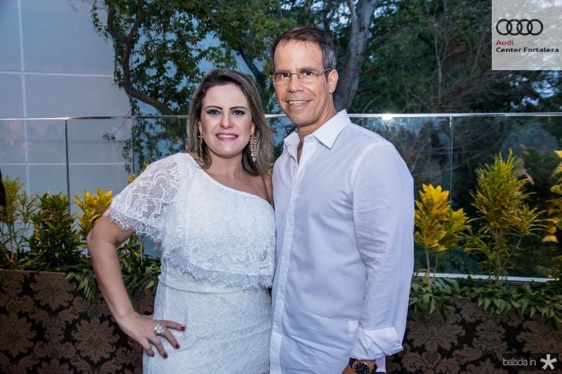 Roseane e Luis Andre Bastos