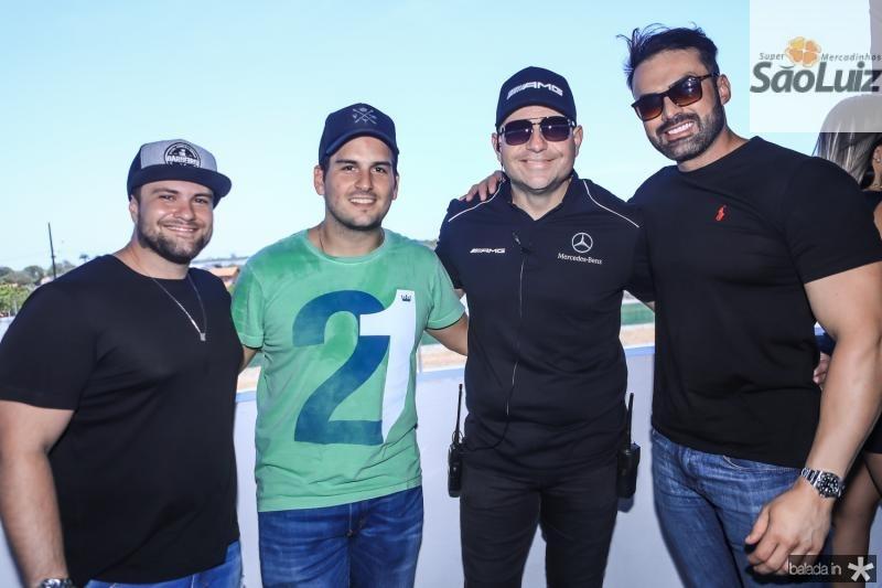 Cristiano Junqueira, Pedro Feitosa, Gostosinho Rebolsas e Airton Bessa