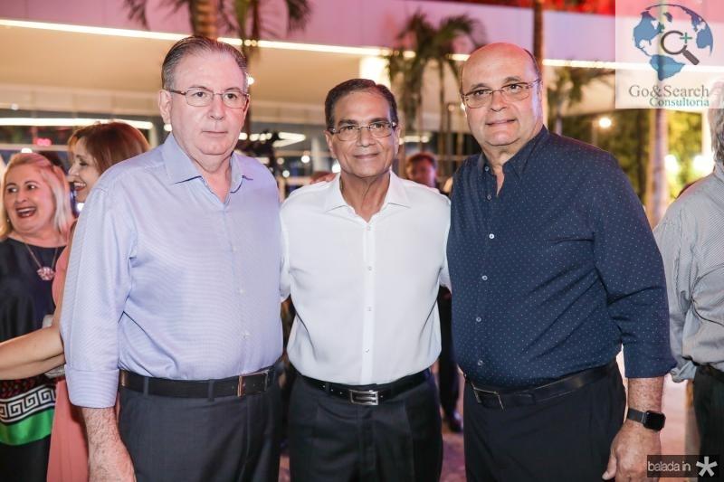 Ricardo Cavalcante, Beto Studart e Fernando Gurgel