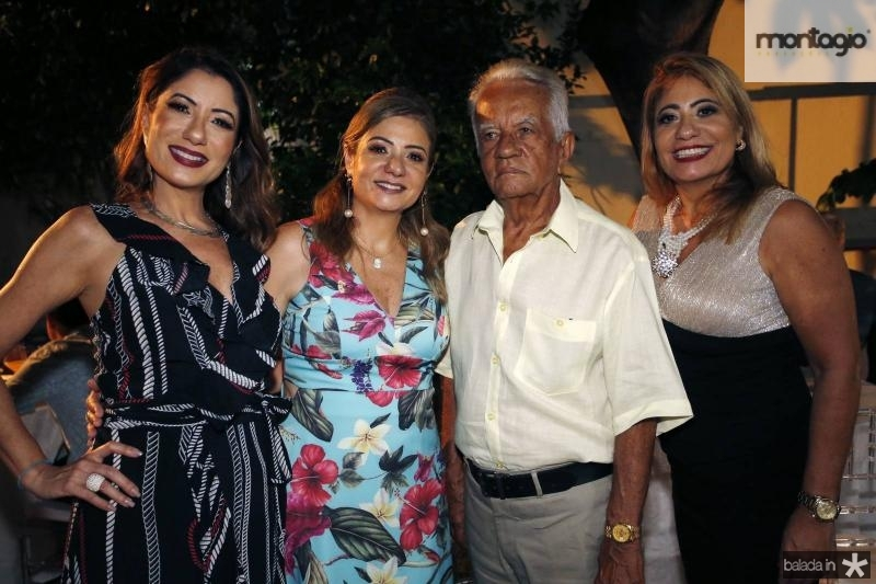 Adriana Mello, Simone Cardoso, Jari e Andrea Mello
