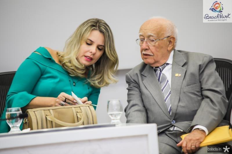Mariana Lobo e Ubiratan Aguiar