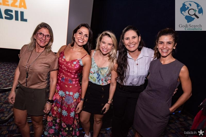 Jeorgia Gadelha, Mariana Sa, Kariana Conrrado, Michele e Karol Araujo