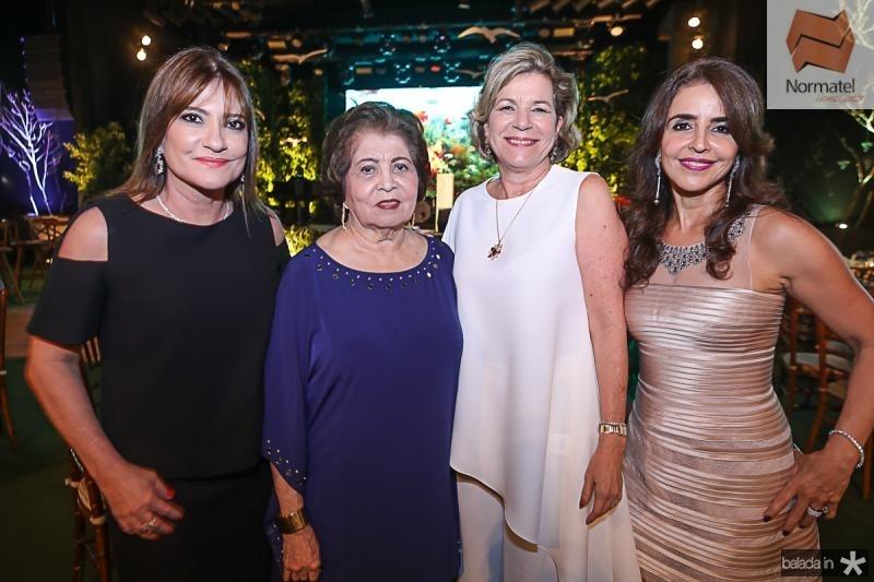Pretinha, Edir, Stela e Denise Rolim