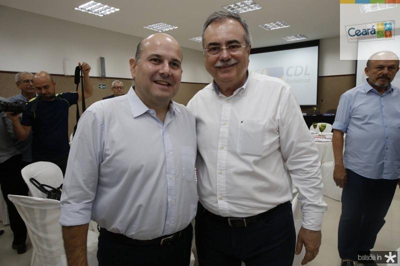 Roberto Claudio e Assis Cavalcante