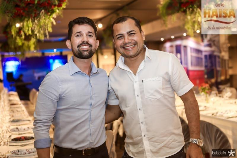 Carlos Almada e Reginaldo Lima